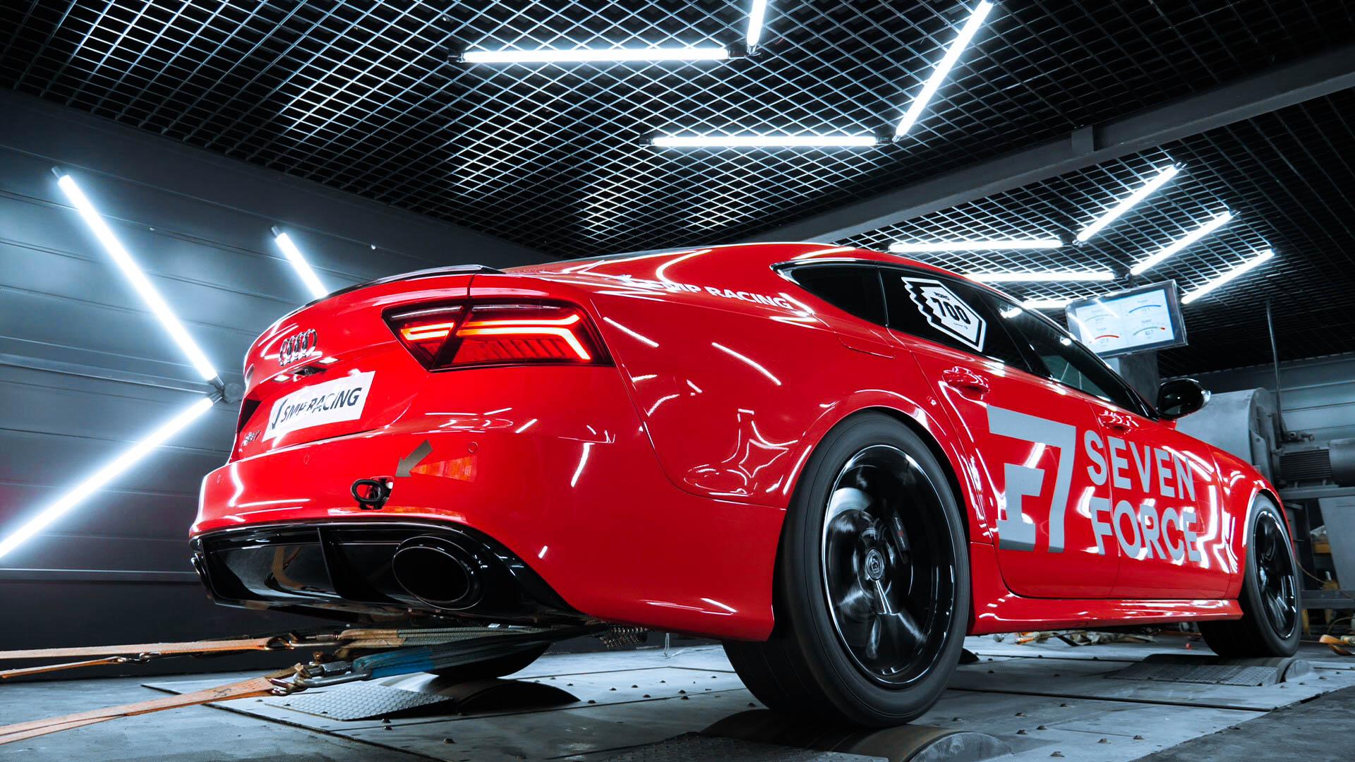 Замер мощности двигателя автомобиля на диностенде